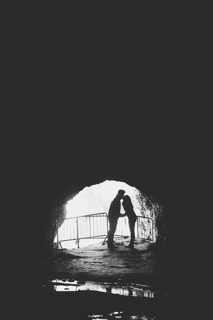 san francisco sutro baths engagement photography