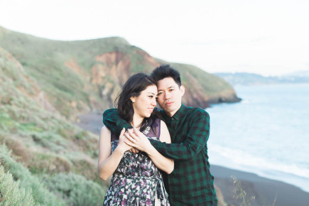 romantic and timeless engagement session