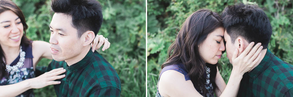 romantic and stunning engagement session