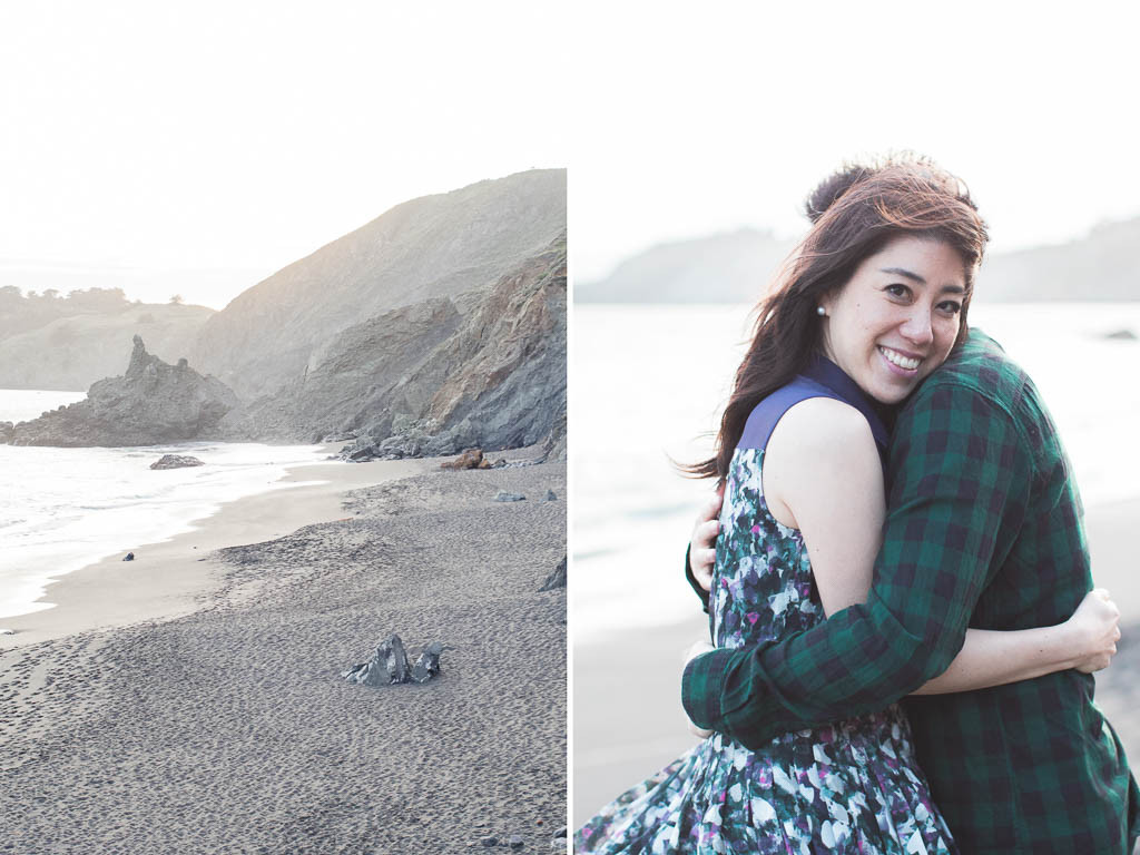 stunning romantic environment for an engagement session